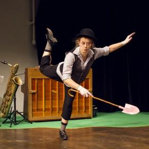 Musikalisches Spiel mit Hasen-Bemmerln und Kuhfladen